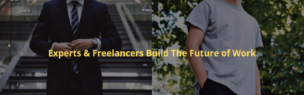 Experts and Freelancers build the Future of Work